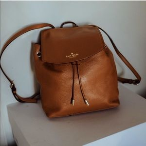 kate spade mulberry street leather backpack